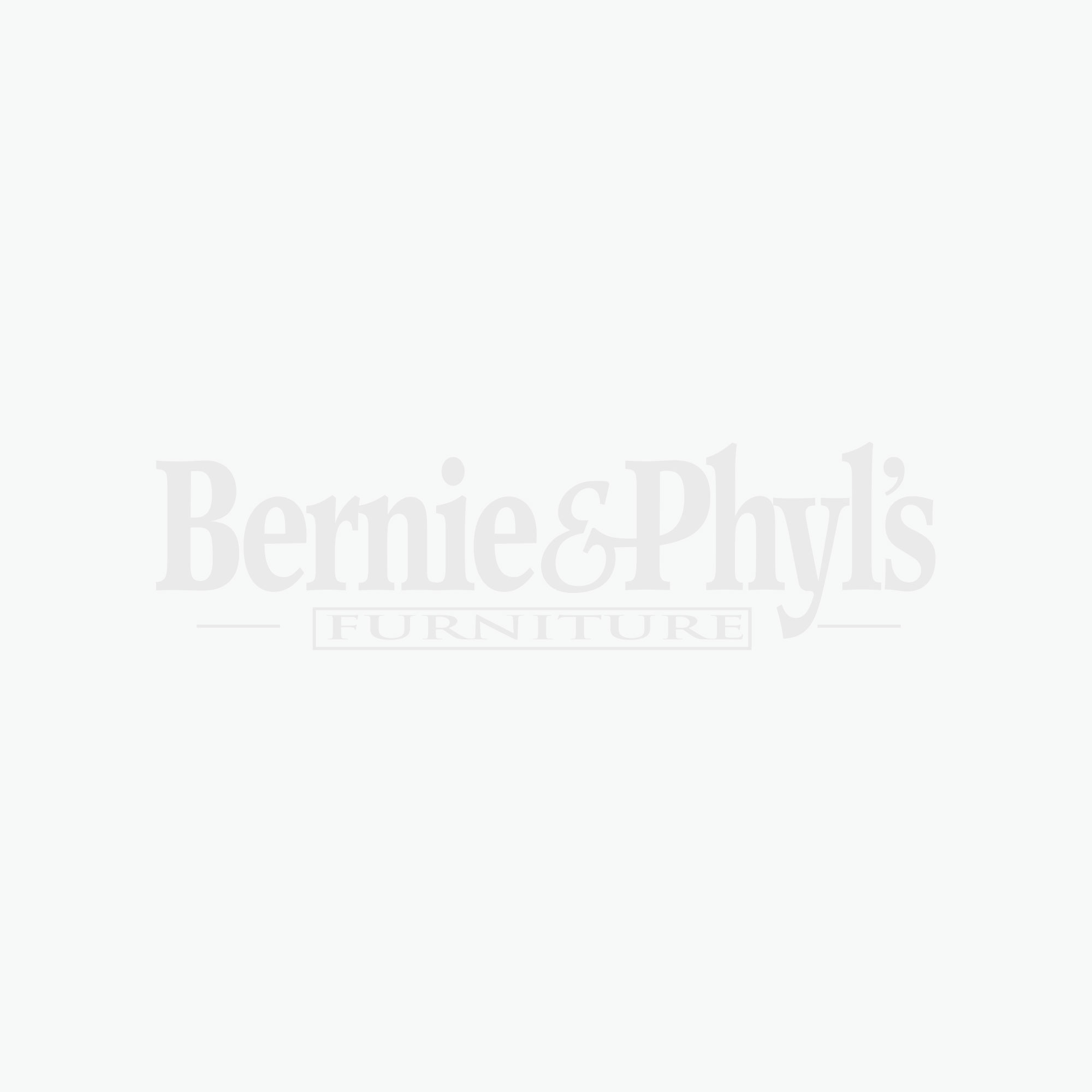 Red Leather-Look Juvenile Chair / Ottoman 2Pcs Set