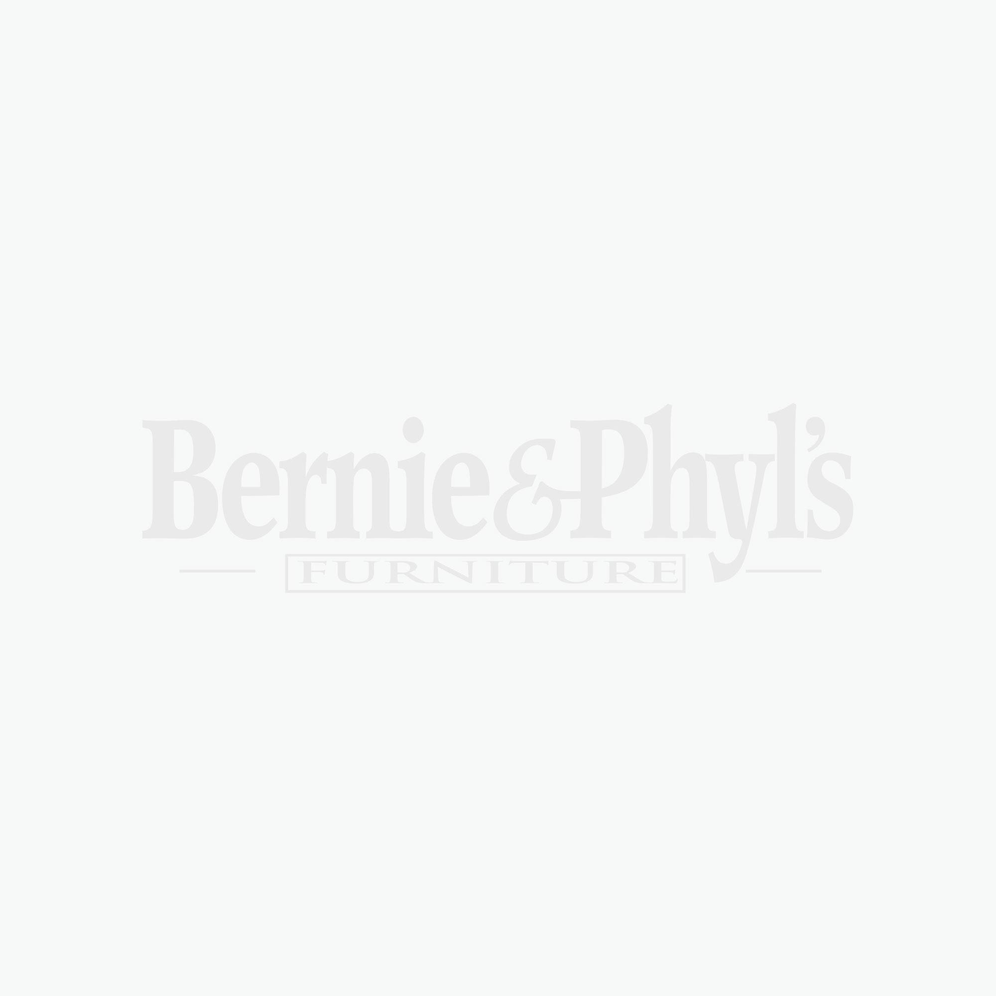 Vineyard Black and Cherry Oval Double Pedestal 7 Piece Dinette Set
